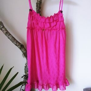 Betsey Johnson Pink Gown NWT Small
